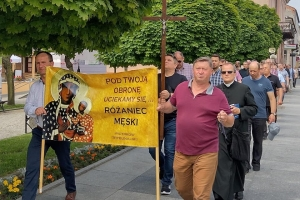 XXVII Męski Publiczny Różaniec w Piotrkowie